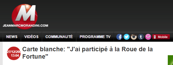Participer jeu télé France