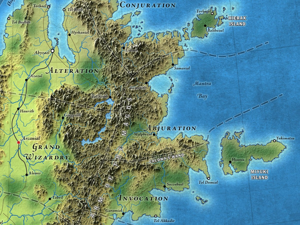 Caldwen Topographical Map (Patreon)