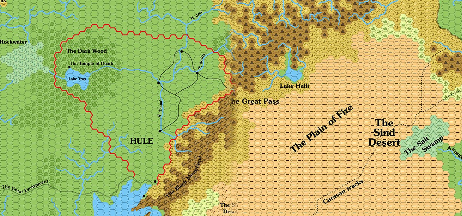 Let's Map Mystara 1983