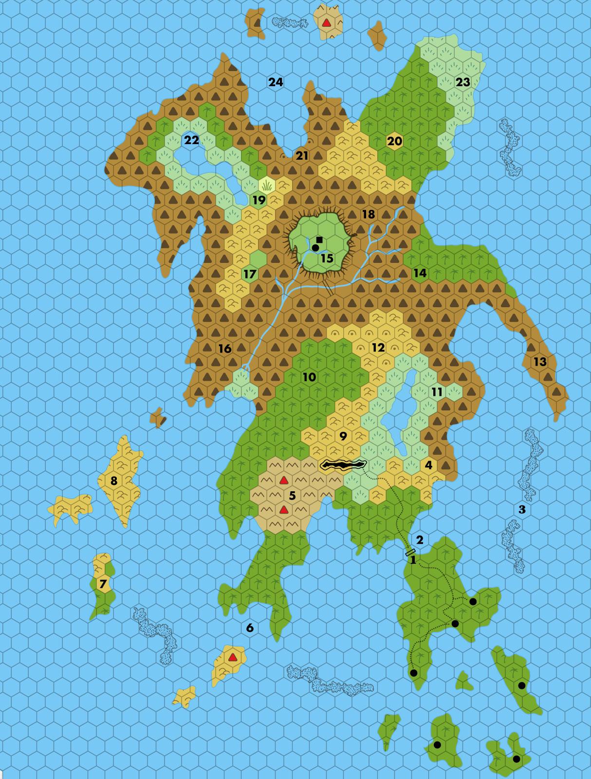 Let's Map Mystara 1981 II
