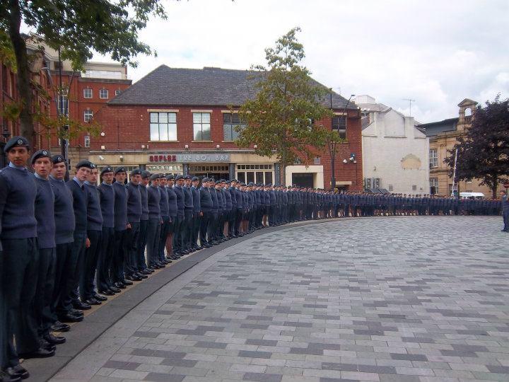 Battle of Britain Parade Sheffield