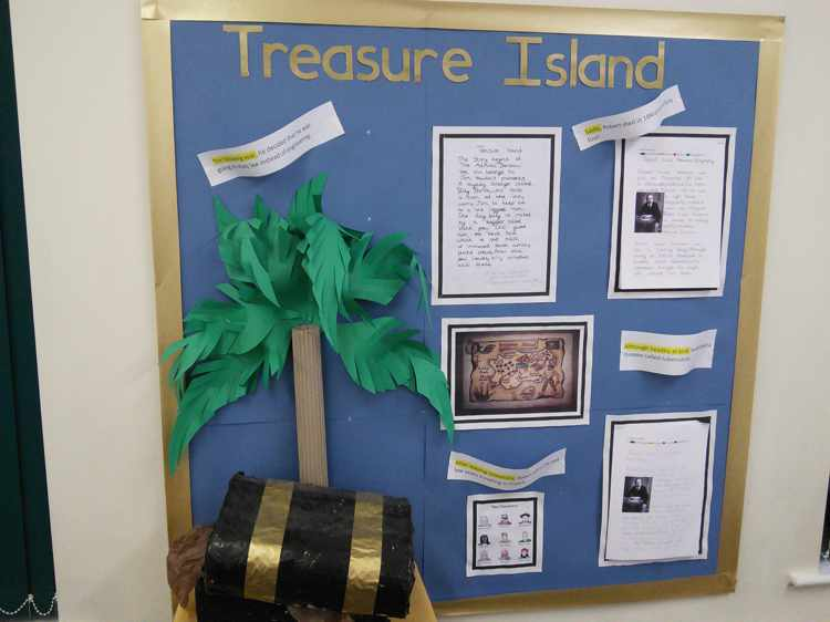 treasure island book report Treasure island adapted & illustrated  once on the island jim and his friends must find the buried treasure and escape before the pirates  about this book.