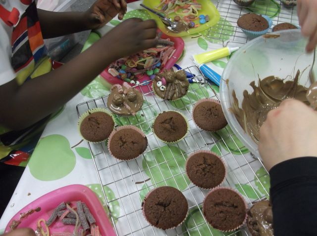 Look what we made in baking club…!