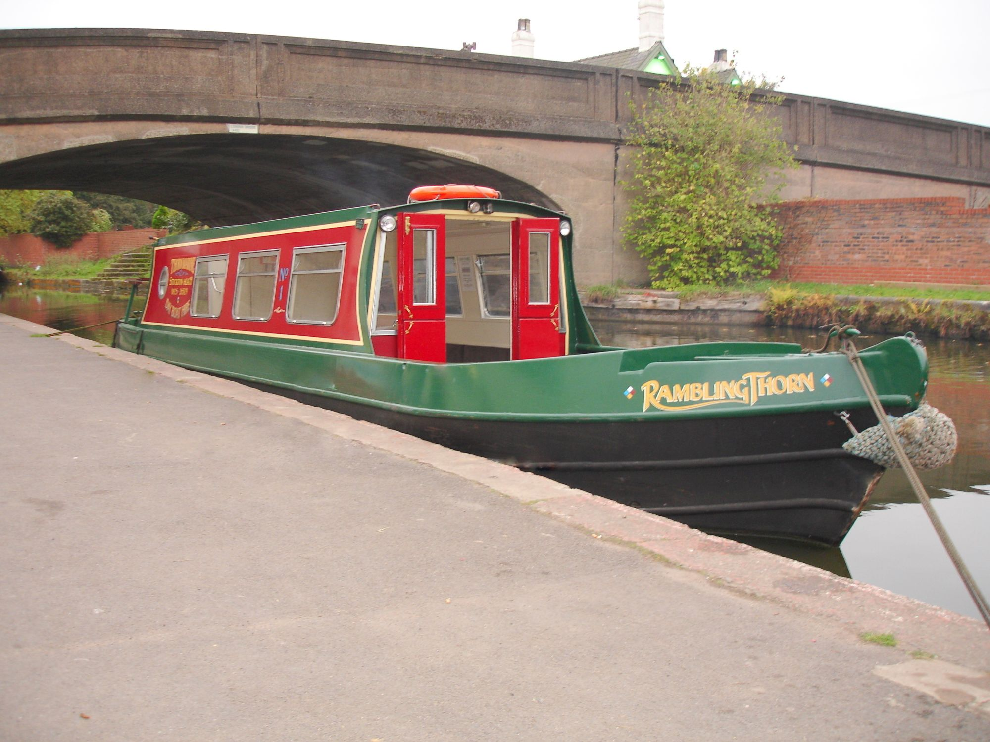 Thorn marine Day boat hire London Bridge Stockton heath Warrington Cheshire Bridgewater canal