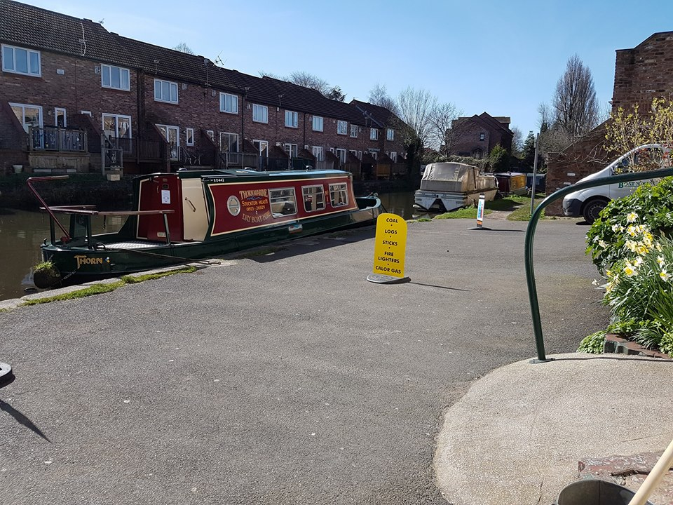Sunny day on the Bridgewater canal