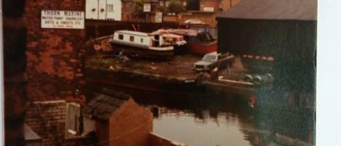 Boat yard Bridgewater canal Stockton heath warrington