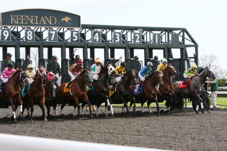 Keeneland gates opening