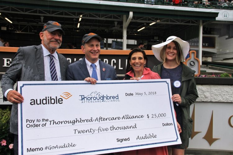 TAA Kentucky Derby check presentation
