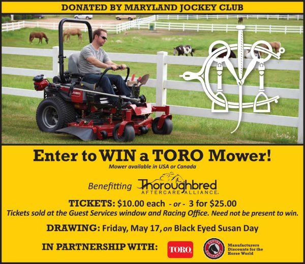 Toro Mower giveaway