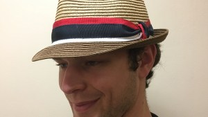 Mens hat by Christine A. Moore