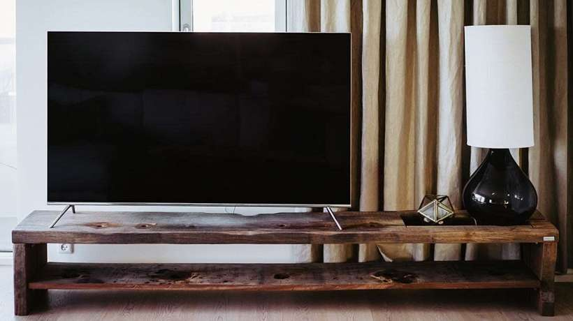 tv furniture with a rustic look