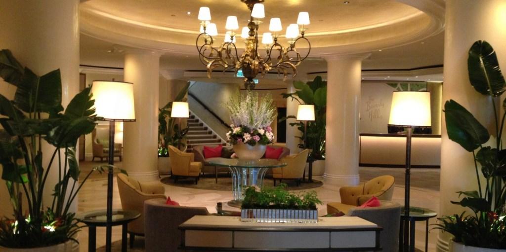 Bespoke travel - the Beverly Hills hotel lobby