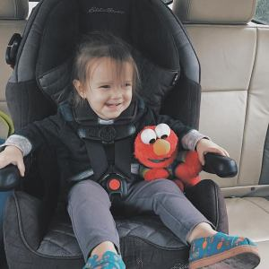 Those Crazy Sorokas // Addison Graduates to Toddler Seat