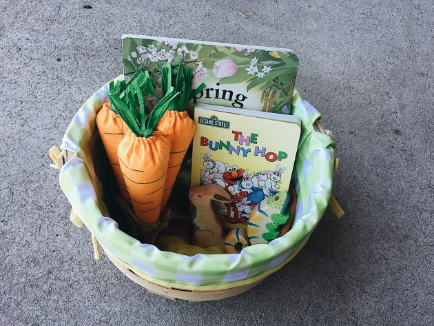 Non-Edible Easter Basket Ideas for Toddlers