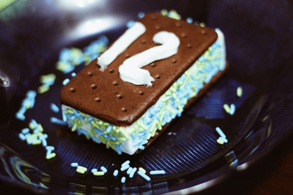 NFL Seattle Seahawks inspired ice cream sandwiches for National Ice Cream Day // Those Crazy Sorokas