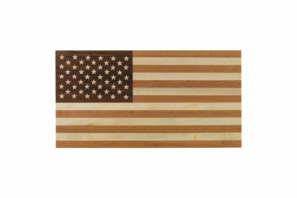 Handmade American Flag Thos Moser