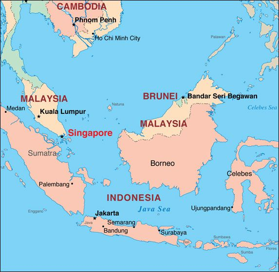 FAQ About Singapore's Location and History