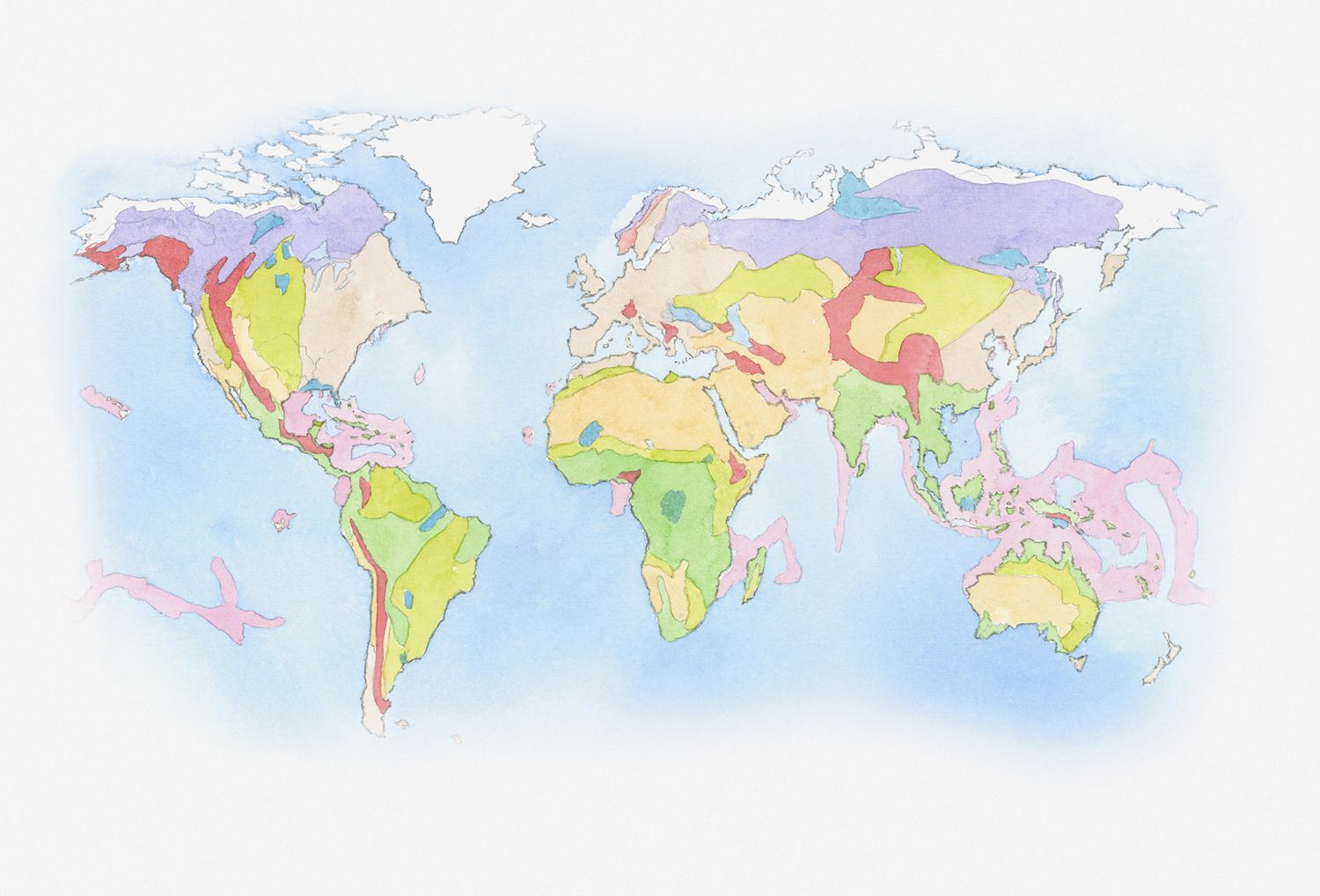 Tree Communities Of The Forest Biomes Of North America