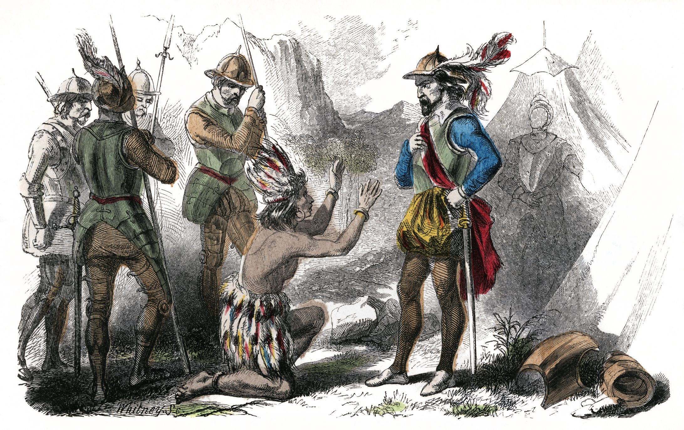 Biography Of Atahualpa Last King Of The Inca