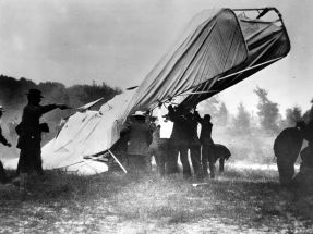 Wright Brothers' First Fatal Airplane Crash