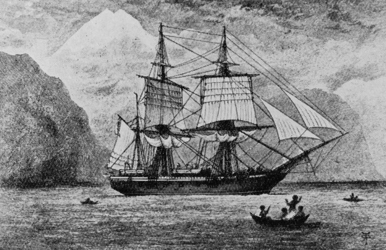 Charles Darwin and His Voyage Aboard H M S  Beagle British research ship HMS Beagle  which carried Charles Darwin