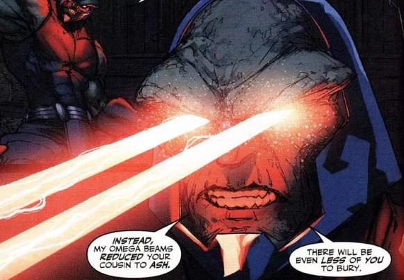 Painel cômico de Darkseid