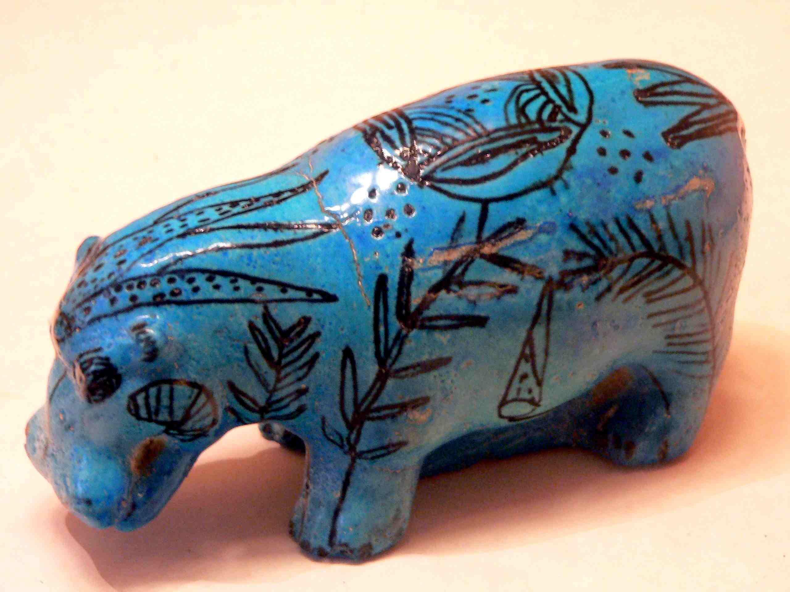Blue Hippopotamus Egypt