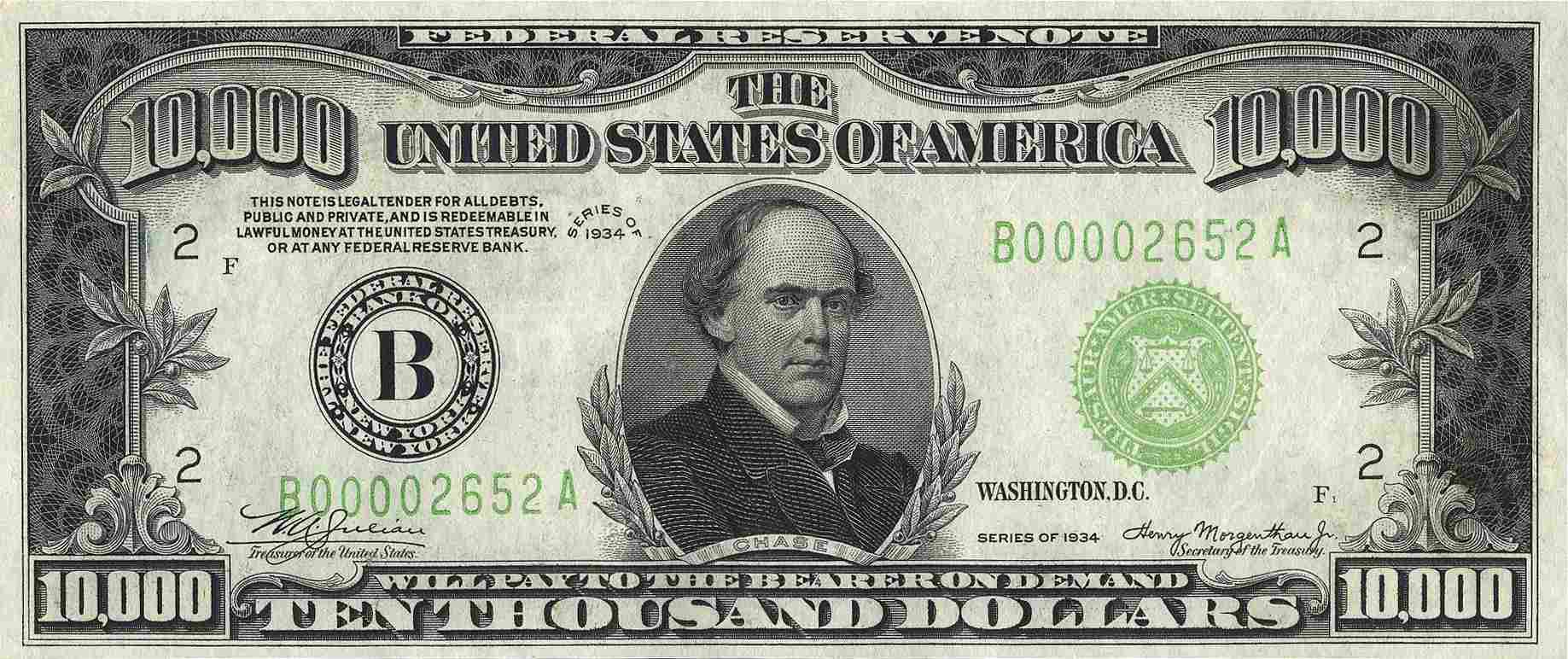 Faces On Every U S Bill
