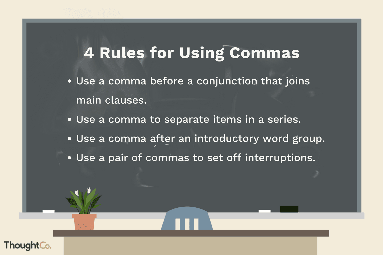 Top 4 Rules For Using Commas Effectively