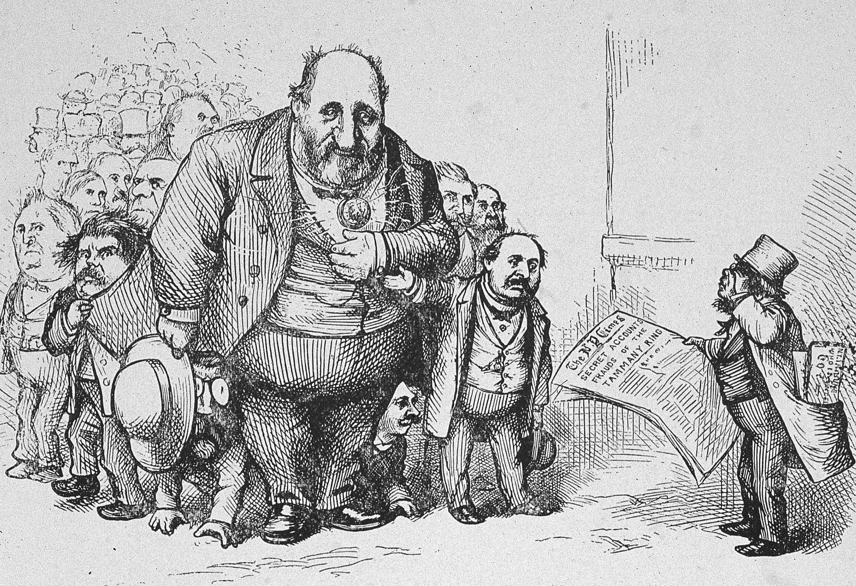 Thomas Nast S Campaign Against Boss Tweed