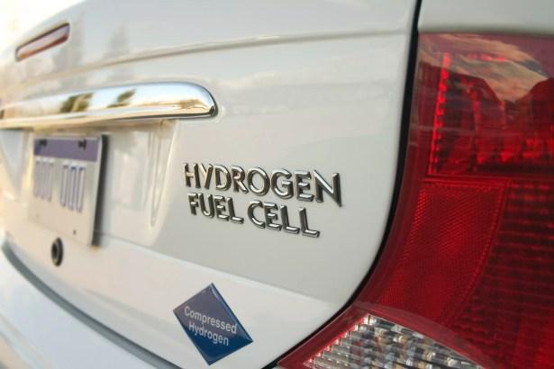 Veículo movido a hidrogênio
