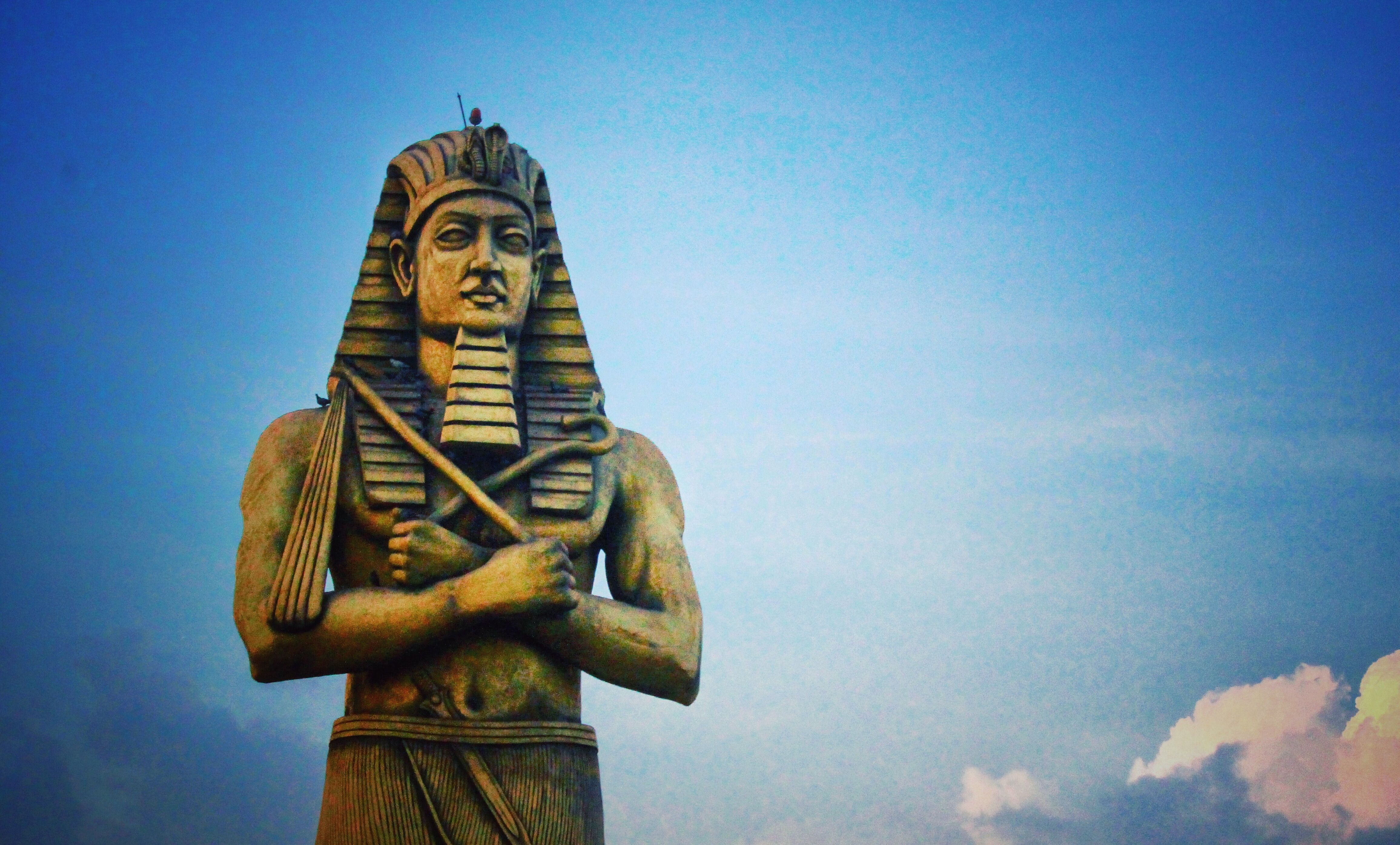 The Pharaoh S Double Crown Of Egypt