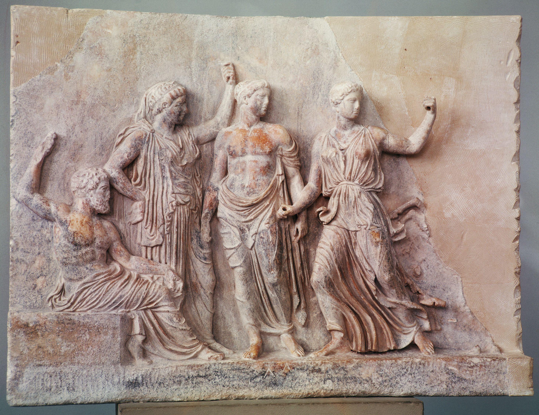 Genealogy Of The Titans And Gods In Greek Mythology