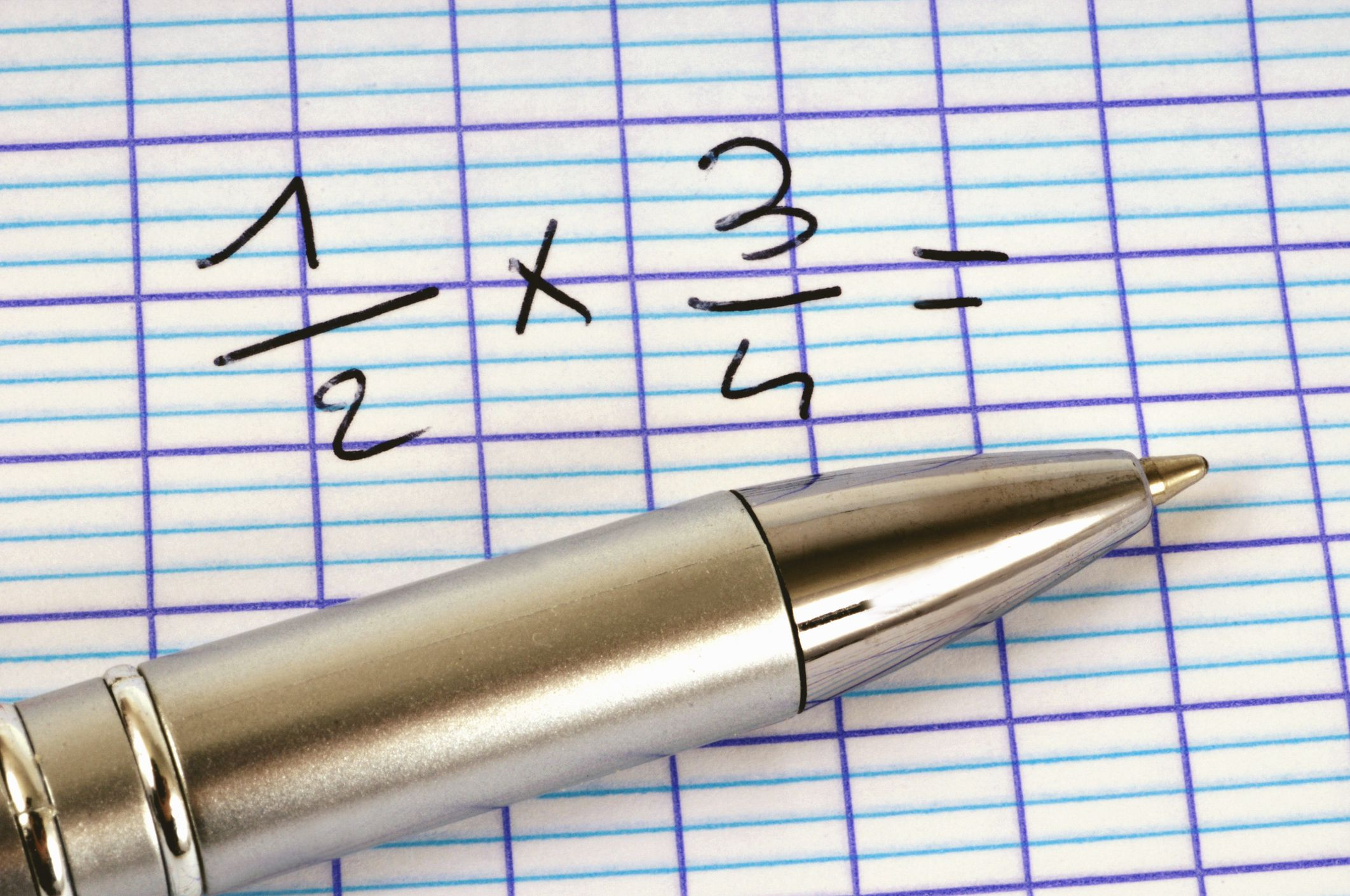 Multiply Fractions With Common Denominators Worksheets
