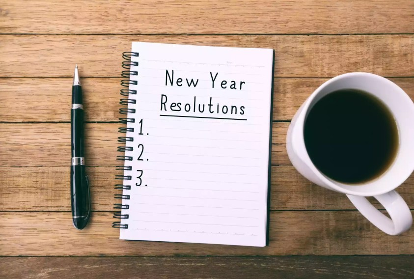 New Years Resolutions