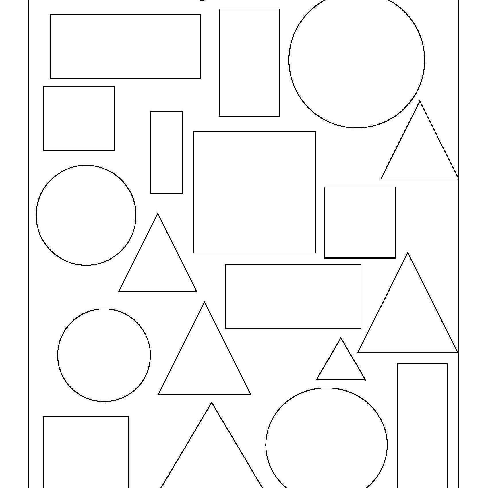 Oval Learning Worksheet
