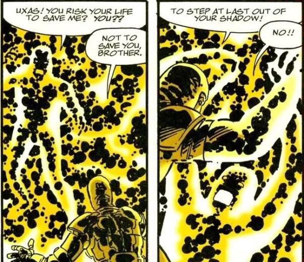 Painel cômico do quarto mundo de Jack Kirby # 2-5