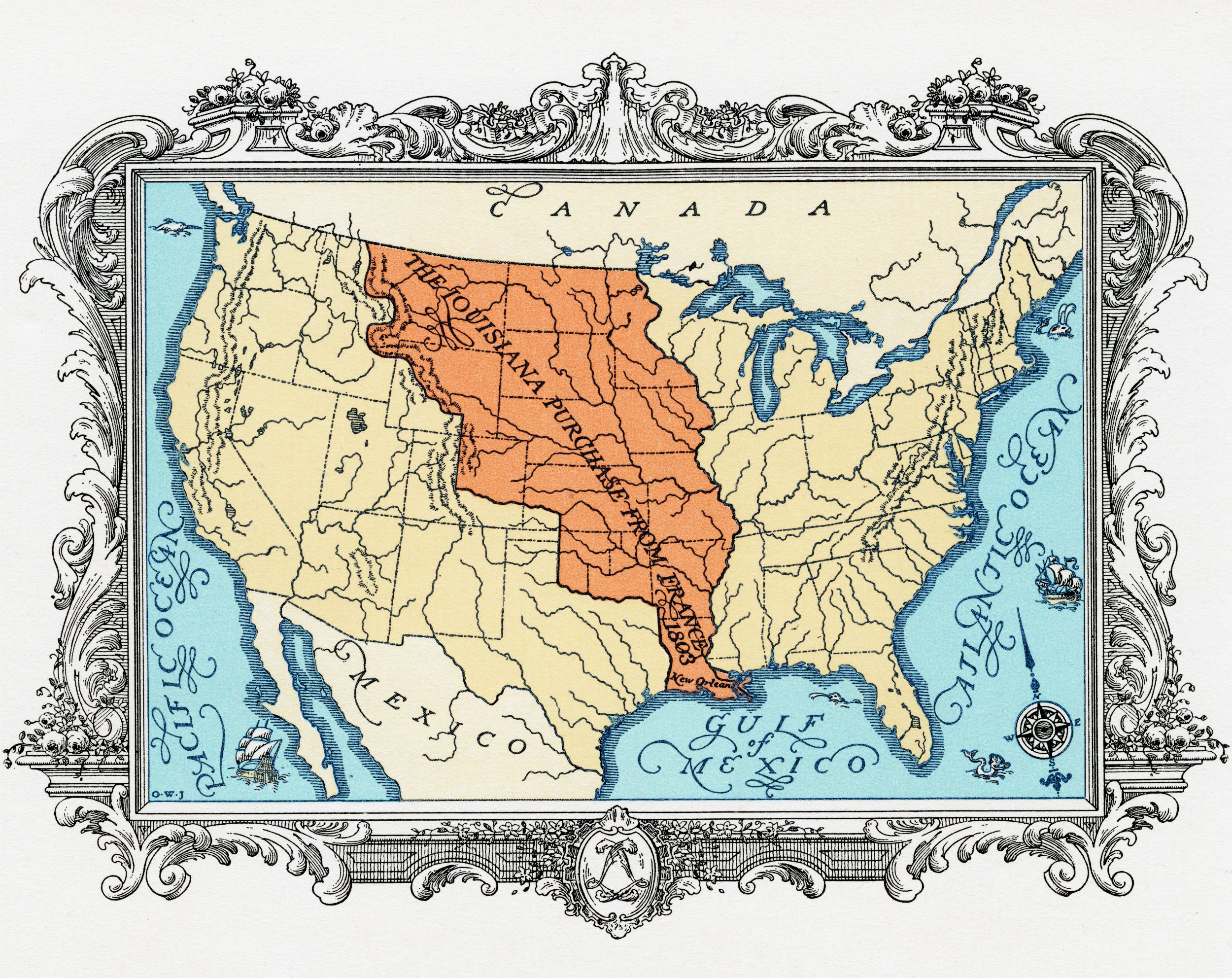 Thomas Jefferson And The Louisiana Purchase
