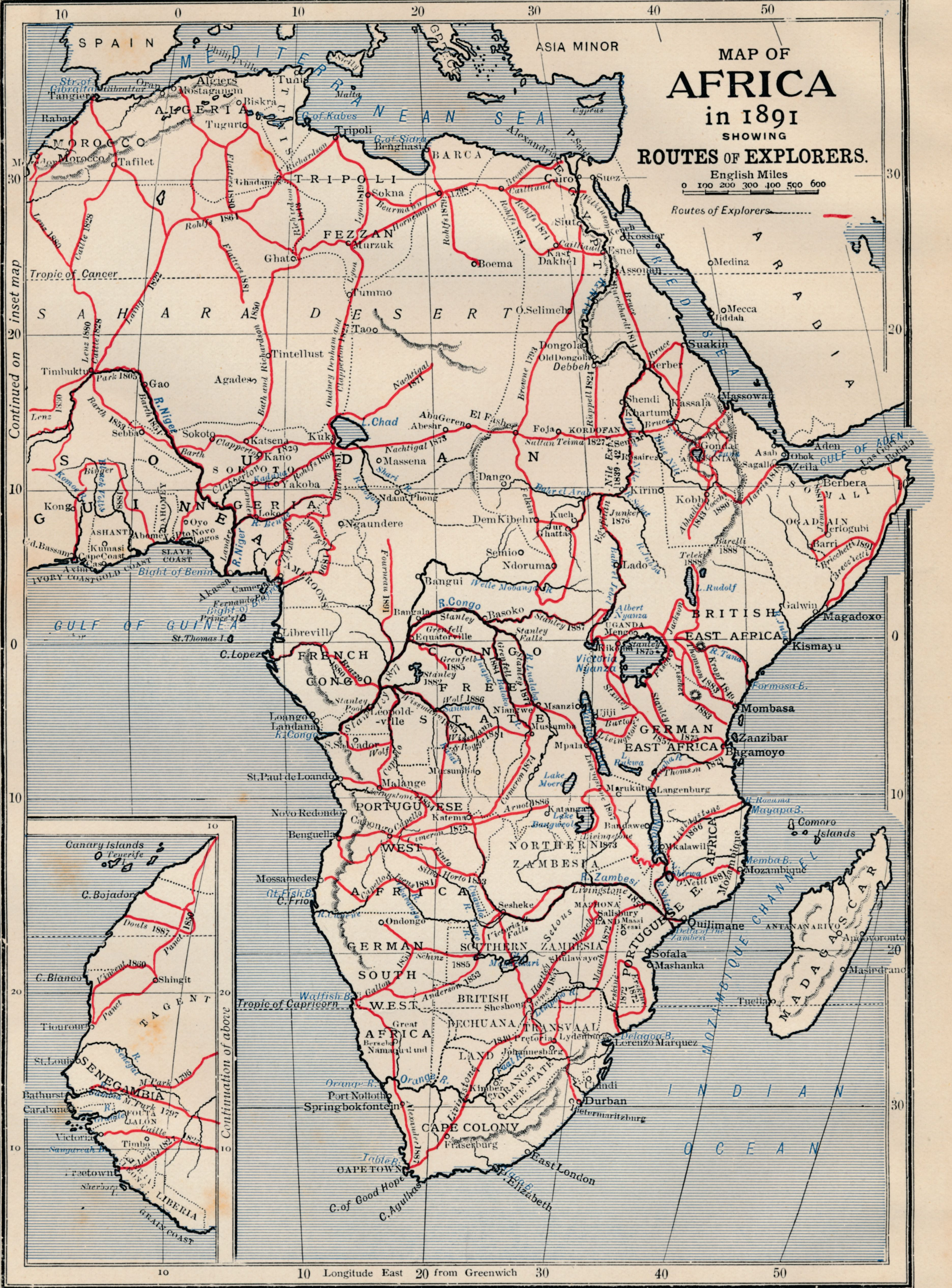 Early Explorers Of Africa