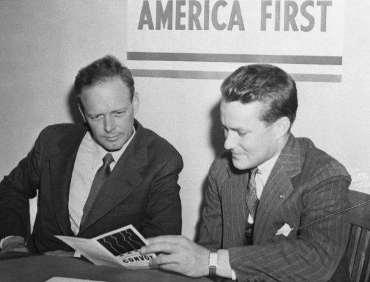 Image result for charles lindbergh america first