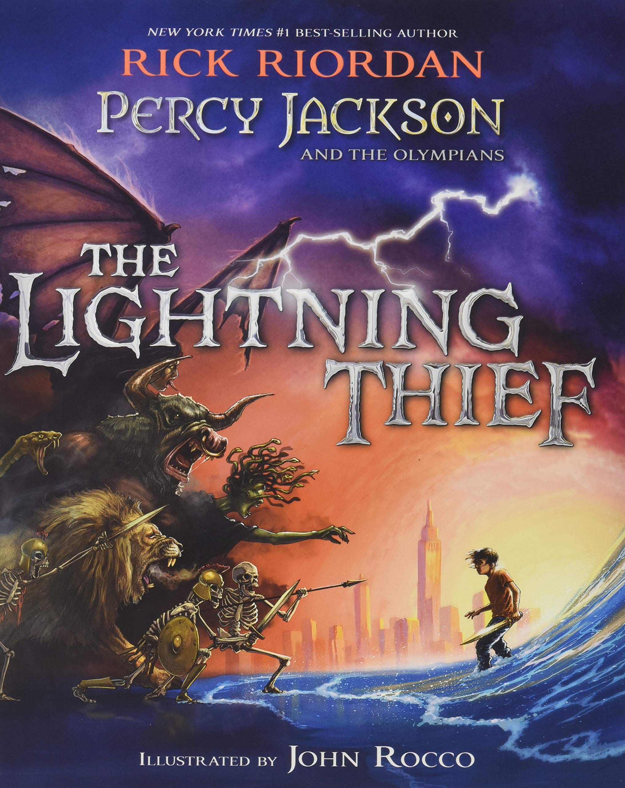 The Lightning Thief Summary