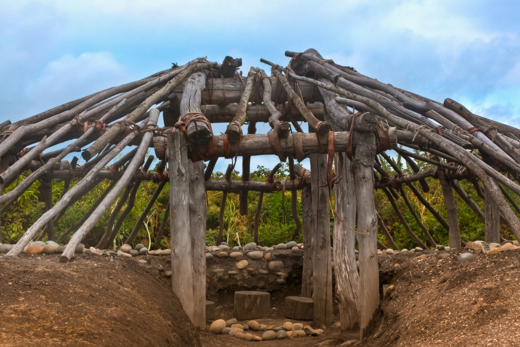What Is A Pit House Winter Home For Our Ancient Ancestors