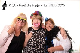 Photo booth for the Peterborough Insurance Brokers at Kawartha Downs