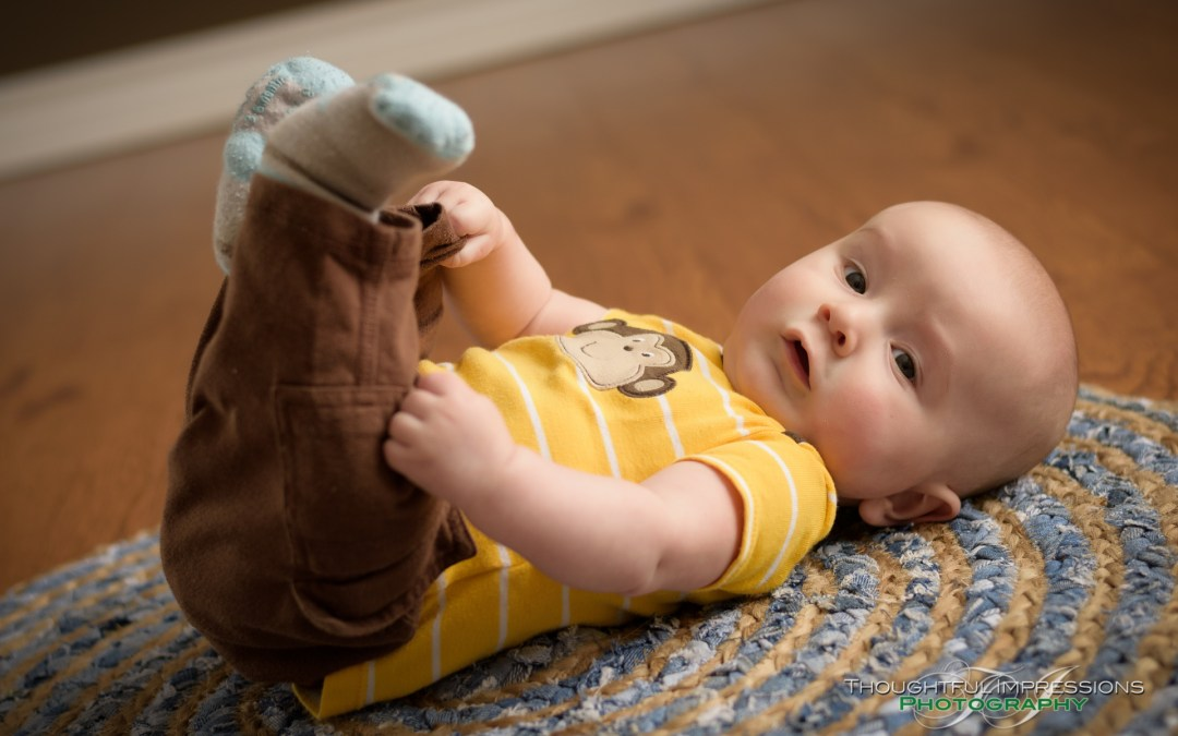 Baby Dominic's 4 month session
