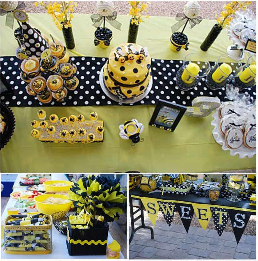 Outdoor Bee Decorations