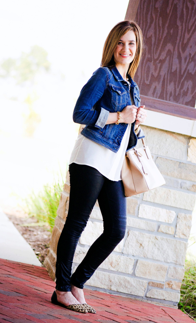 3 WAYS TO WEAR LEATHER LEGGINGS Thoughtfully Styled