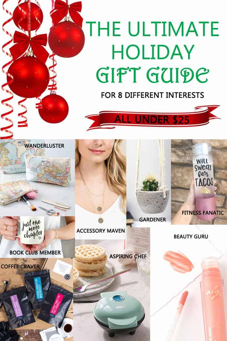 The Ultimate Holiday Gift Guide For Under $25 For Eight Different Interests