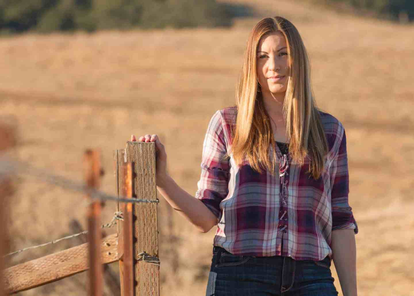 Perfect Plaid Lace-Up Shirt for Warm Fall California Weather
