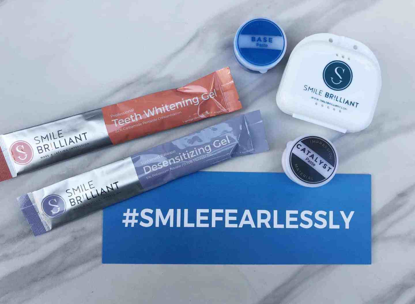 Smile Brilliant Home Teeth Whitening Experience
