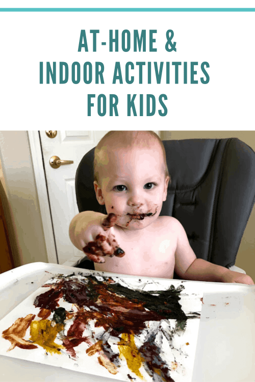 At-Home and Indoor Activities for Kids